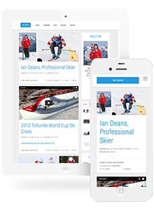 Ian Deans - Website Design by Red Cherry