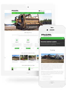 M & M- Website Design by Red Cherry