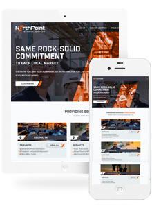 NorthPoint - Website Design by Red Cherry