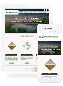 Valley Crossing - Website Design by Red Cherry